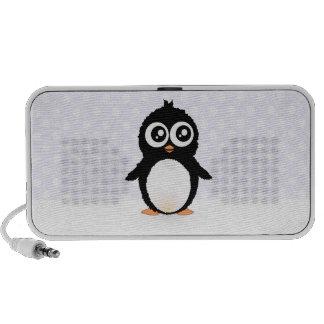 Niedlicher Penguin-Cartoon Notebook Speaker