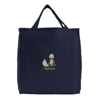Niedlicher personalisierter gestickte Tasche des
