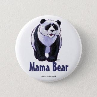 Niedlicher polarer Bär für Mamma Runder Button 5,7 Cm