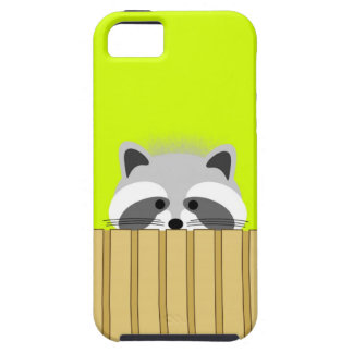 Niedlicher Raccoon iPhone Fall Tough iPhone 5 Hülle