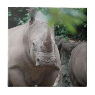 Niedlicher Rhino Fliese