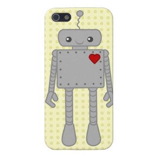 Niedlicher Roboter IPhone Fall iPhone 5 Hüllen