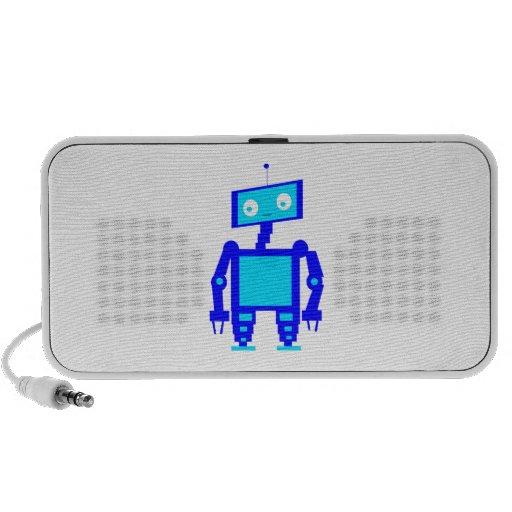 Niedlicher Roboter Mp3 Lautsprecher