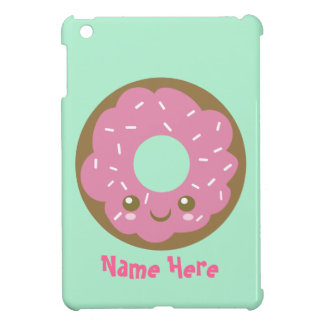 Niedlicher rosa Krapfen iPad Mini Hülle
