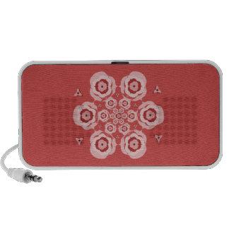 Niedlicher rosa Lotos-Blumen-Meditationportable-La iPod Speaker
