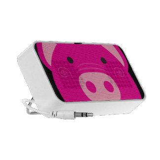 Niedlicher rosa Schwein-Lautsprecher