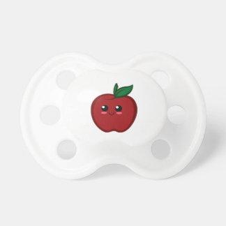 Niedlicher roter Apple Schnuller