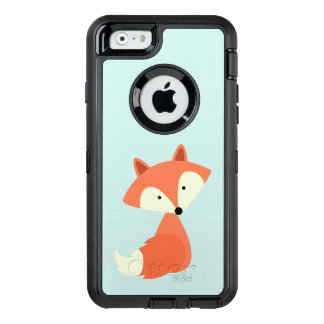 Niedlicher roter Fox OtterBox iPhone 6/6s Hülle