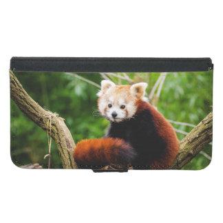 Niedlicher roter Panda-Bär Geldbeutel Hülle Für Das Samsung Galaxy S5