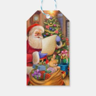 Niedlicher Sankt-Feiertagsentwurf mit Kindern Geschenkanhänger