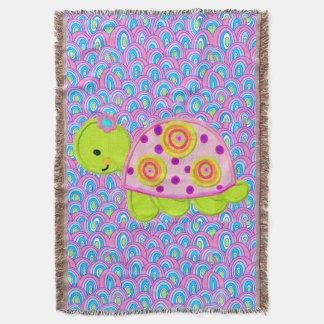 Niedlicher SchildkröteThrow Decke
