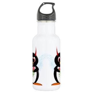 Niedlicher schlechter Penguin Trinkflasche