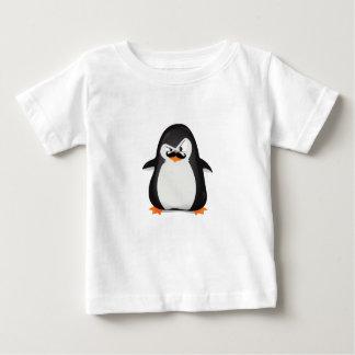 Niedlicher Schwarz-weißer Penguin und lustiger Baby T-shirt