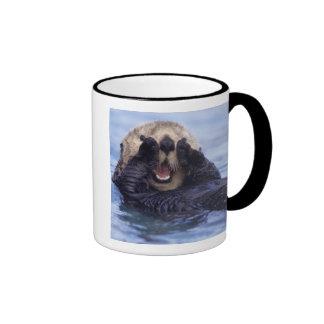 Niedlicher Seeotter | Alaska, USA Ringer Tasse