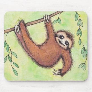 Niedlicher Sloth Mousepad