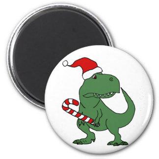 Niedlicher T-rex Dinosaurier in der Runder Magnet 5,1 Cm