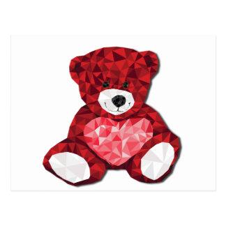 Niedlicher Teddybär Postkarte