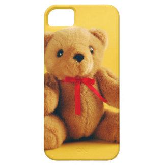 Niedlicher Teddybärn-Drucktelefonkasten iPhone 5 Etuis