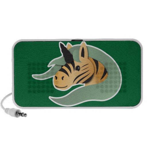 Niedlicher TigerUnicorn Notebook Speaker