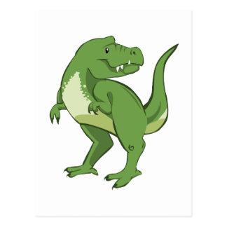 Niedlicher Tyrannosaurus Rex Postkarte