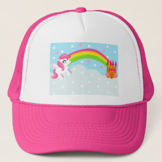 niedlicher Unicorn Hut Truckerkappe