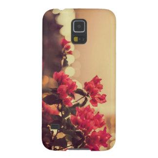 Niedlicher Vintager Blumen-Telefon-Kasten Samsung Galaxy S5 Hüllen