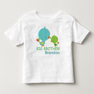 Niedlicher Vogel-großer Kleinkind T-shirt