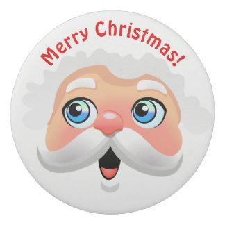 Niedlicher Weihnachtsmann-Cartoon Radiergummis 0