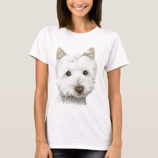 Niedlicher Westie Hund T-Shirt