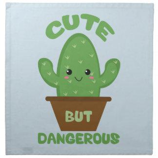 Niedliches aber gefährliches - Kawaii Kaktus - Serviette