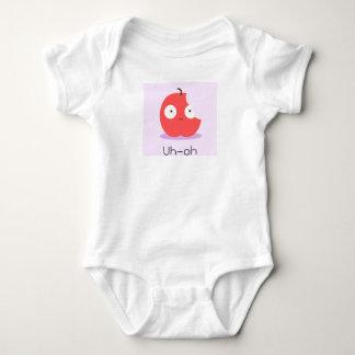 Niedliches Apfelbaby wachsen Baby Strampler