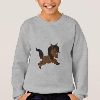 Niedliches Baby Pferd Sweatshirt