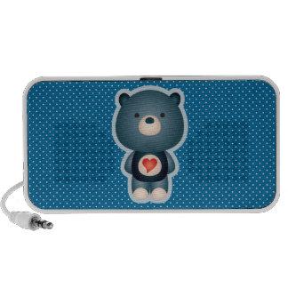 Niedliches Bärn-Blau Notebook Lautsprecher