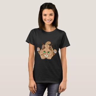 Niedliches Bobcat-Kätzchen T-Shirt
