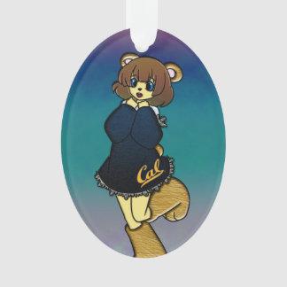 Niedliches cal-Bärn-Mädchen Ornament