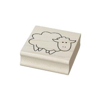 Niedliches Cartoon-Baby-Schaf-Vieh Gummistempel