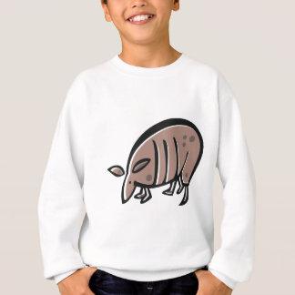 Niedliches Cartoon-Gürteltier Sweatshirt