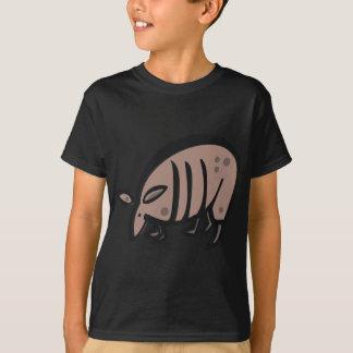 Niedliches Cartoon-Gürteltier T-Shirt