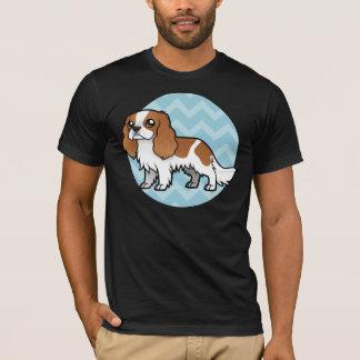 Niedliches Cartoon-Haustier T-Shirt