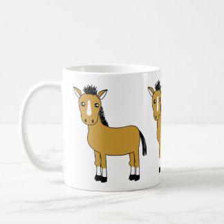 Niedliches Cartoon-Pferd Kaffeetasse