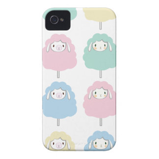 Niedliches Cartoon-Schaf-Muster iPhone 4 Cover
