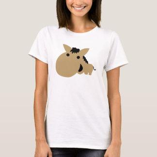 Niedliches Comicpferd T-Shirt