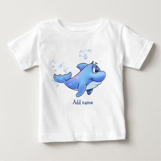 Niedliches Delphin-Shirt Baby T-shirt