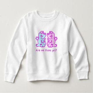 Niedliches Dinosaurierduo Sweatshirt