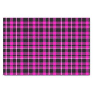 Niedliches dunkles rosa u. schwarzes seidenpapier