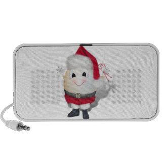 Niedliches Ei Sankt - Eggstrordinary Weihnachten iPhone Lautsprecher