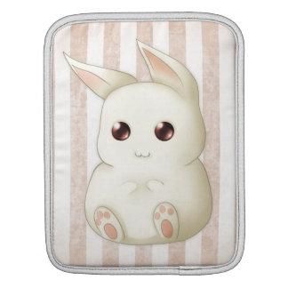 Niedliches geschwollenes Kawaii Häschen-Kaninchen iPad Sleeves