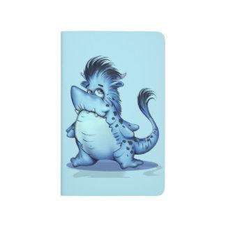 NIEDLICHES Gitter Monster HAIFISCH-ALIEN-CARTOON Notizbücher