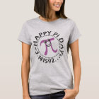 Niedliches glückliches PU-Tag© lila PU-Symbol T-Shirt