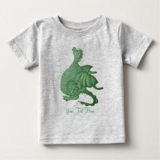 niedliches greendragon mythische baby t-shirt